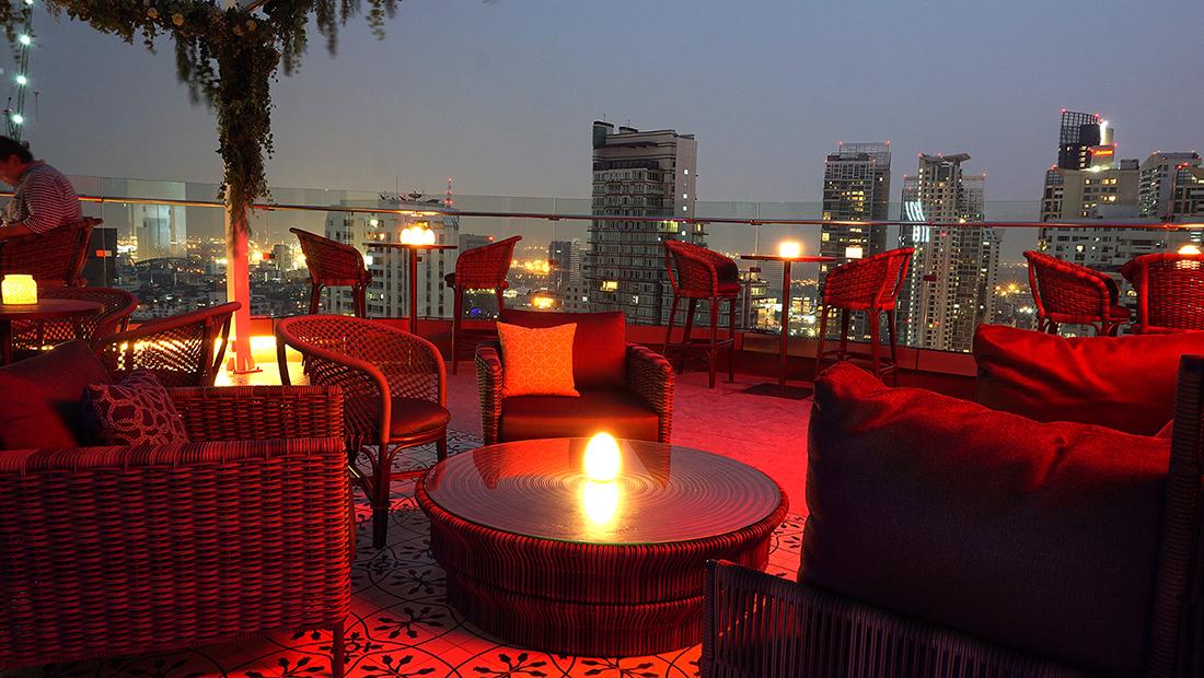 AIRE BAR RoofTop Bar HYATT PLACE BANGKOK 24