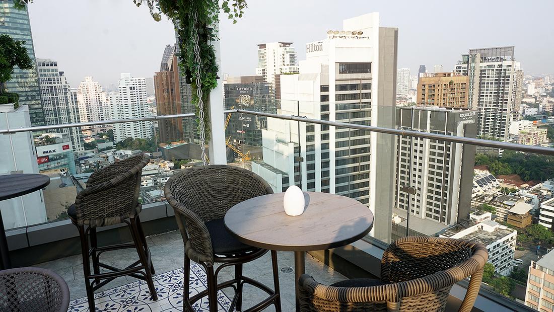 AIRE BAR RoofTop Bar HYATT PLACE BANGKOK 5