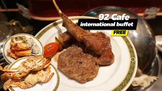 จัดให้แล้น… ซีฟู้ดบุฟเฟ่ต์ @92 Cafe Golden Tulip Sovereign Hotel Bangkok เข้ามาอ่านกันเร็ว ^^