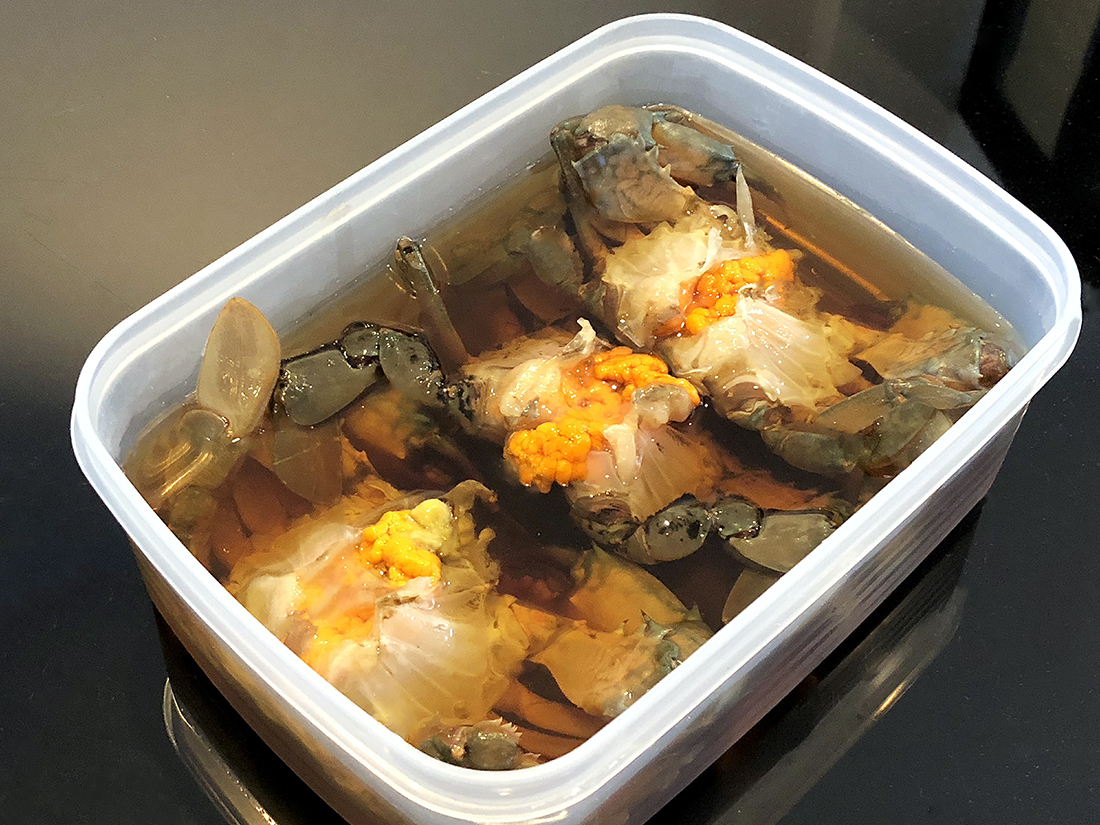 Marinaded Spicy Crab 10