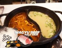 กินเนื้อวากิว ซุปหม่าล่า เผ็ดร้อนเหมือนกินอยู่ในนรก @Seven Sins (Hell of a Hot Pot) Siam Square One ชั้น 4
