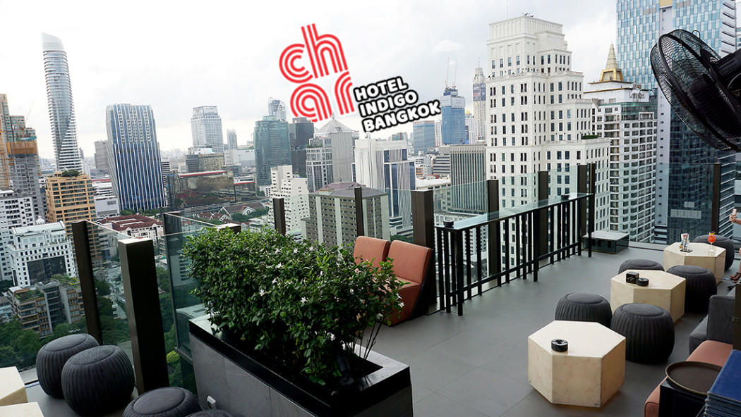 CHAR Restaurant and Rooftop Bar Hotel Indigo Bangkok Wireless Road 00