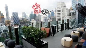 นั่งชิล Rooftop Bar อะเกน ชิม Rangers Valley Rib Eye เนื้อริบอายจากออสเตรเลีย จิบค็อกเทล ชมวิวถนนวิทยุ @CHAR Restaurant and Rooftop Bar Hotel Indigo Bangkok ฟินเวอร์