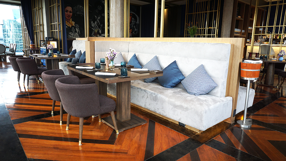 CHAR Restaurant and Rooftop Bar Hotel Indigo Bangkok Wireless Road 11