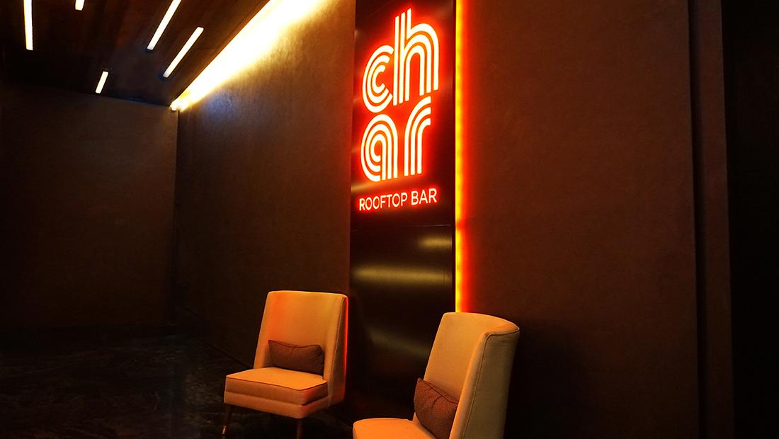 CHAR Restaurant and Rooftop Bar Hotel Indigo Bangkok Wireless Road 29