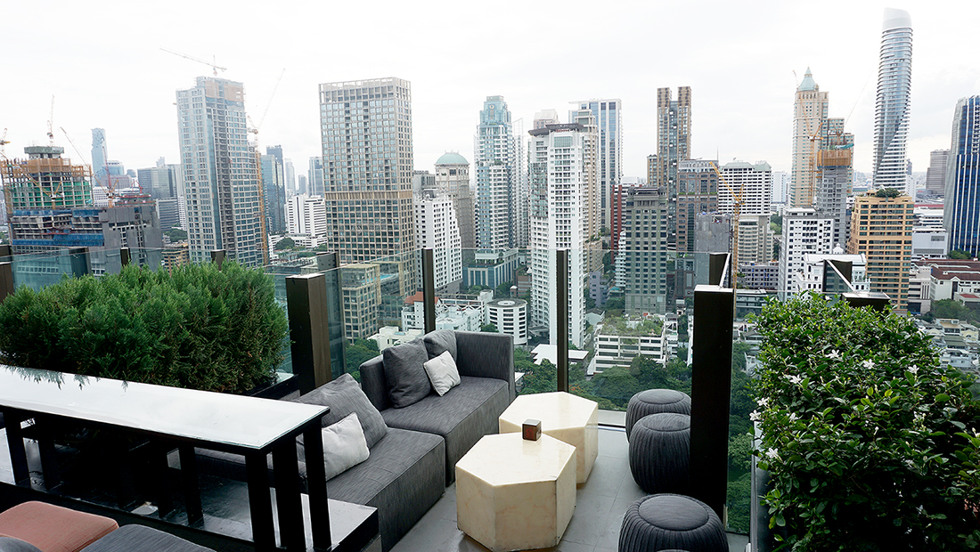 CHAR Restaurant and Rooftop Bar Hotel Indigo Bangkok Wireless Road 4