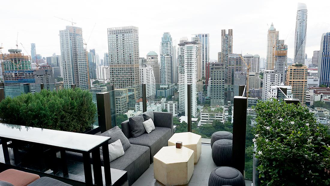 CHAR Restaurant and Rooftop Bar Hotel Indigo Bangkok Wireless Road 4