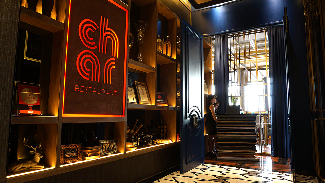 CHAR Restaurant and Rooftop Bar Hotel Indigo Bangkok Wireless Road 9