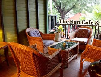 กินอาหารไทย บรรยากาศวินเทจ @The Sun Cafe & Bistro (เจริญกรุง) #เหมือนกินอาหารอยู่ระเบียงหลังบ้าน