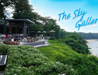 นั่งชิล กินลม ชมทะเล The Sky Gallery @พัทยา บรรยากาศดีโคตร สายชิล ชอบนั่งชอบวิว ห้ามพลาด ^^