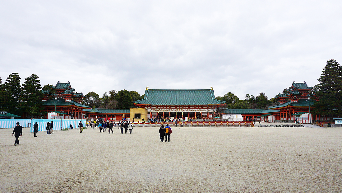 Heian Shrine and Chanoyu Matcha 12