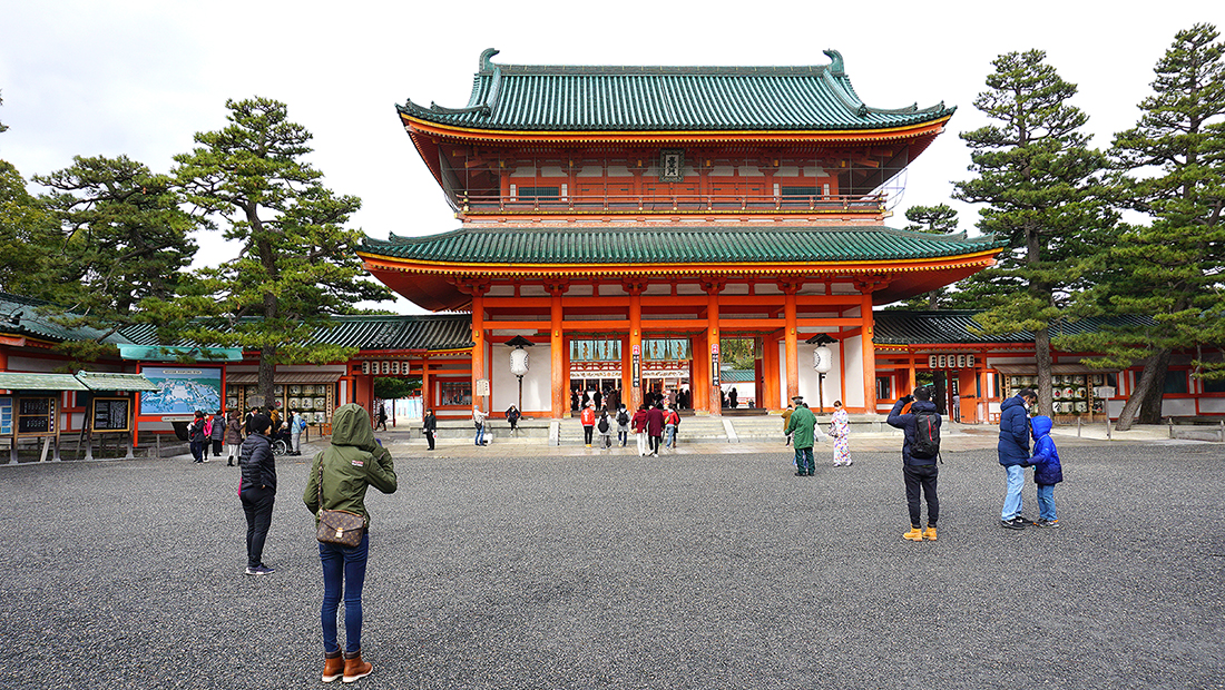 Heian Shrine and Chanoyu Matcha 9