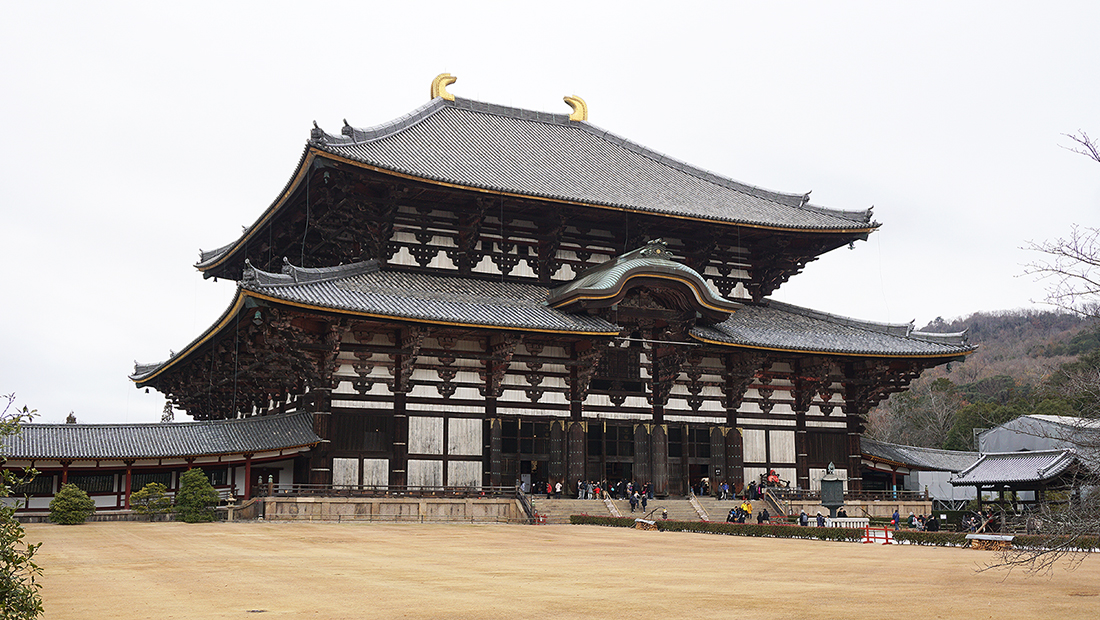 Todai-ji Temple Nara Osaka 10