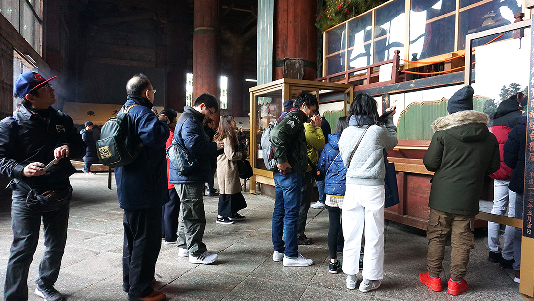 Todai-ji Temple Nara Osaka 15