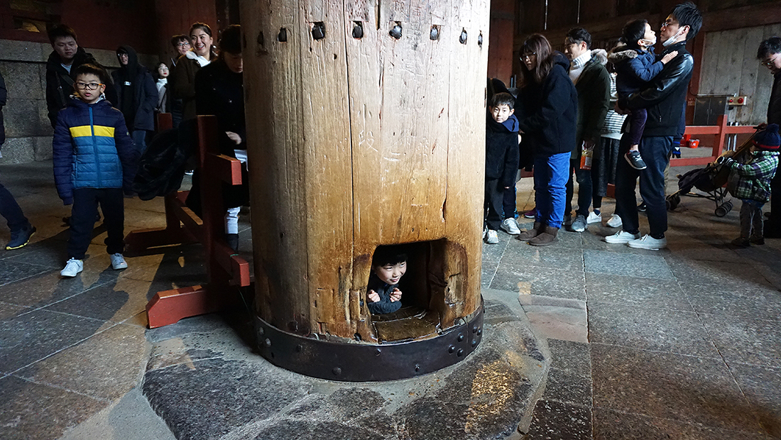 Todai-ji Temple Nara Osaka 21