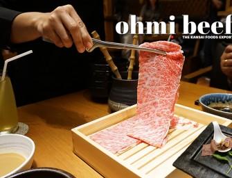 กินเนื้อ OHMI ชาบู ชาบู @NABEZO ของดีจากจังหวัดชิกะ ส่งตรงมาโดย บริษัท ไดโช ประเทศไทย ไม่ต้องบินไปกินถึงญี่ปุ่น