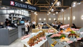 กินโรลเนื้อมัตสึซากะ (Matsusaka Beef) สอดไส้ตับห่าน (Foie Gras) ที่ SUSHI SHIN โครงการ Index Living Mall ราชพฤกษ์ ฟินแค่ไหนถามใจดู ^^