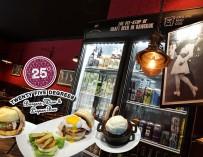 ชิมชีสเบอร์เกอร์ สไตล์อเมริกันแบบคลาสสิค เนื้อฉ่ำ ชีสมาเต็ม ที่ 25 Degrees Burger @Pullman Hotel G เปิด 24 ชั่วโมง บรรยากาศดีมาก ถ่ายรูปสวย