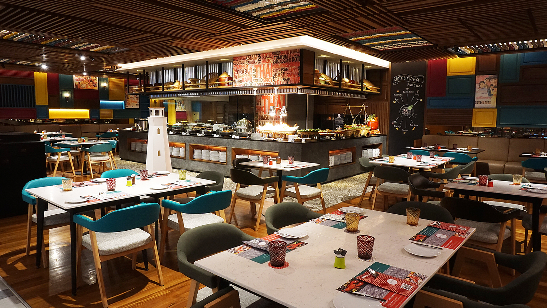 Buffet Seafood Amaya Food Gallery Amari Watergate Bangkok 1