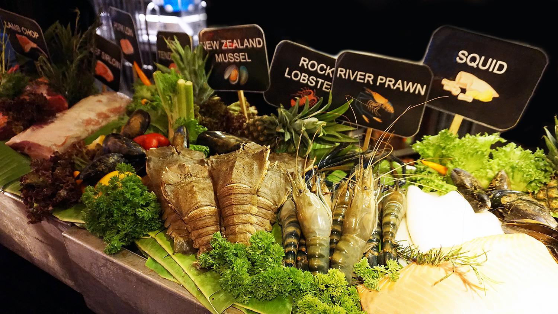 Buffet Seafood Amaya Food Gallery Amari Watergate Bangkok 33