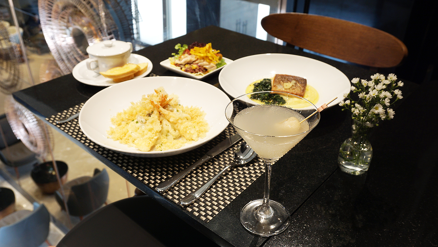 Hotel Verve S-SENBrasserie and More Fit Your Style Lunch 20