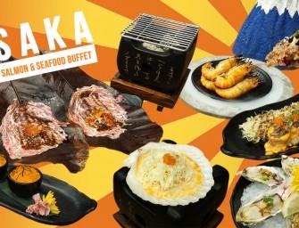 กินไม่อั้น เนื้อวากิวย่างใบโฮบะ ซูชิตับห่าน มันปูย่าง ซาชิมิ… เยอะไป๊ บุฟเฟ่ต์อาหารญี่ปุ่น แซลมอน ซีฟู้ด ไปลองกันมะ Osaka Buffet @La Villa Ari