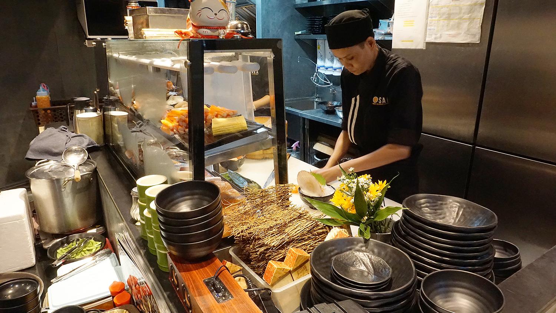 Osaka Buffet La Villa Ari 2