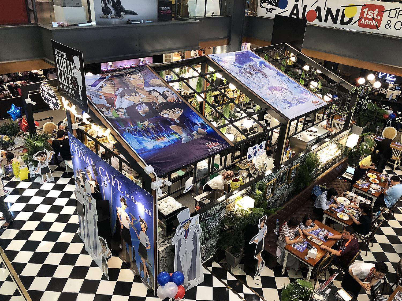 DETECTIVE CONAN CAFE IN BANGKOK 1