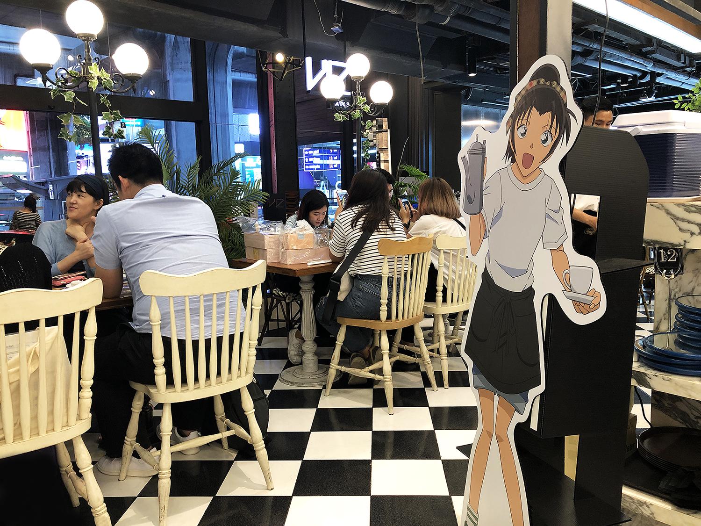 DETECTIVE CONAN CAFE IN BANGKOK 8