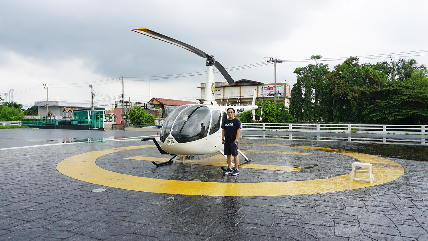 Helicopter Sightseeing Bangkok Thailand Solaire Heliluck Aviation Services 10