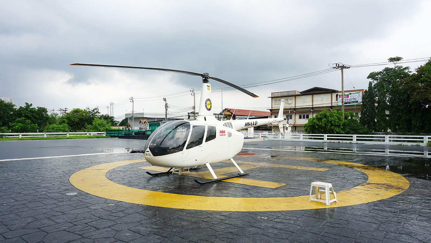 Helicopter Sightseeing Bangkok Thailand Solaire Heliluck Aviation Services 11