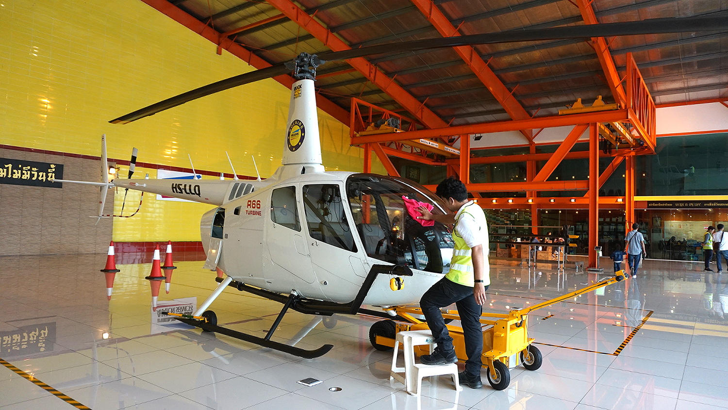 Helicopter Sightseeing Bangkok Thailand Solaire Heliluck Aviation Services 15