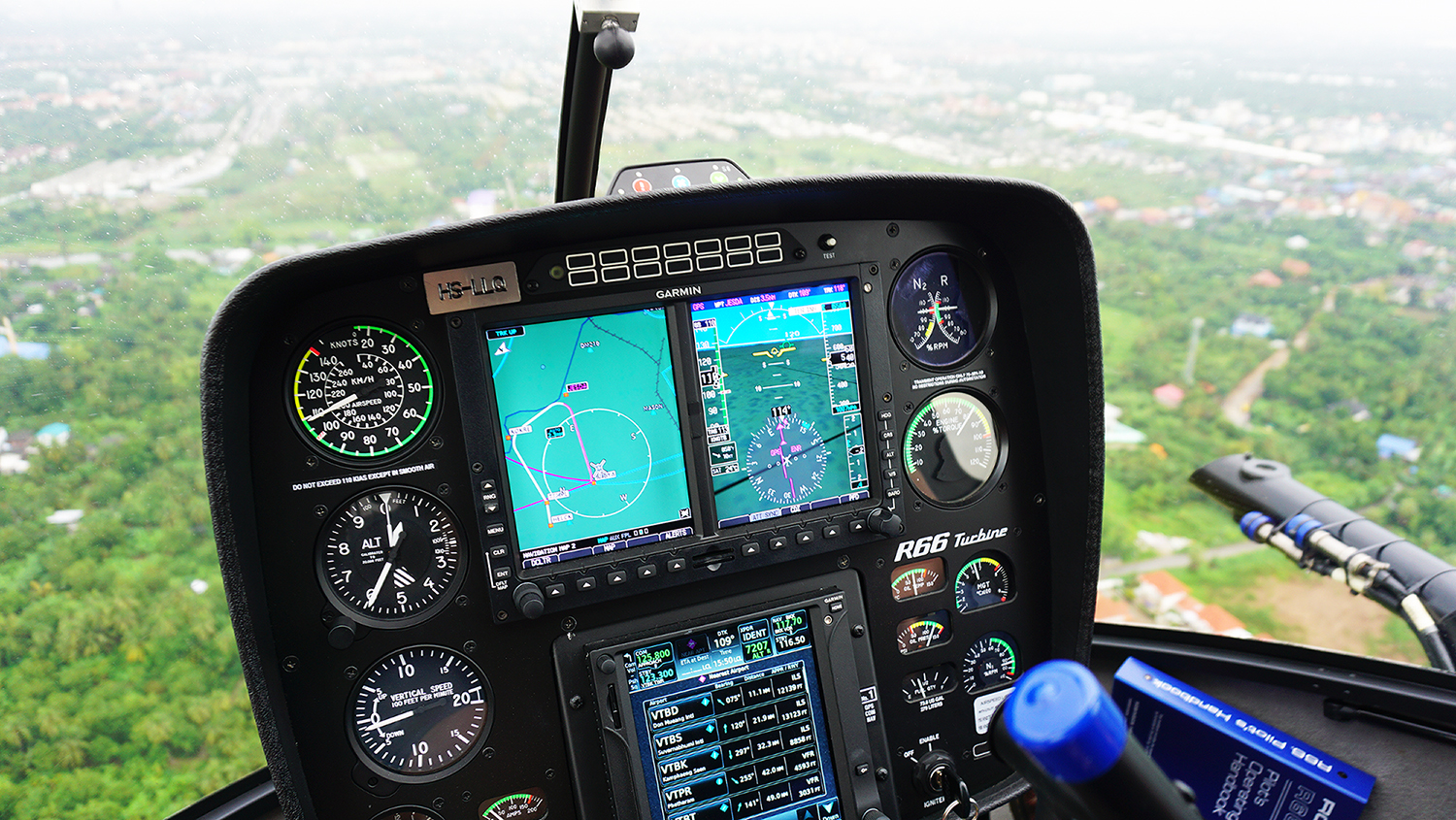 Helicopter Sightseeing Bangkok Thailand Solaire Heliluck Aviation Services 29