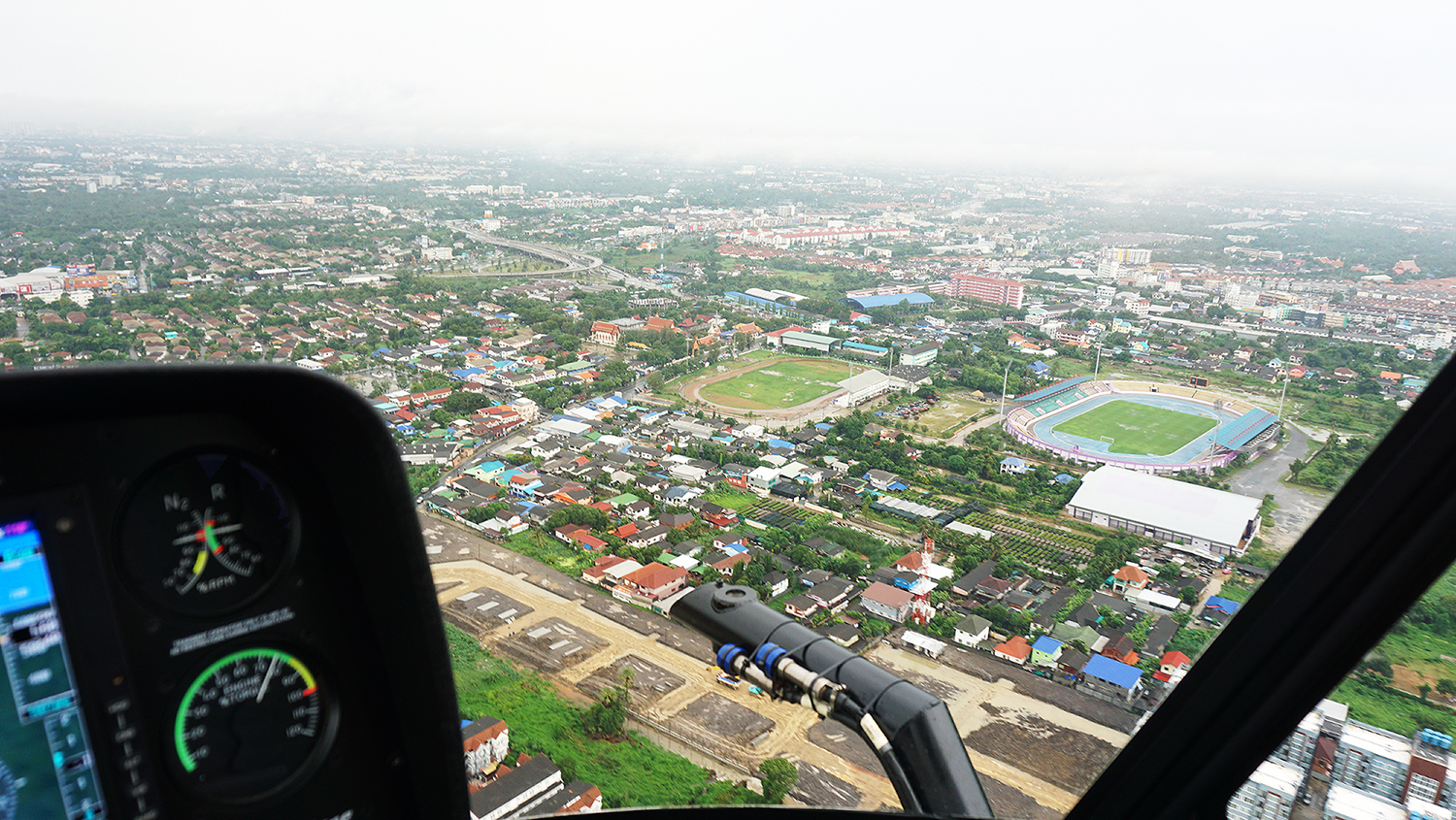 Helicopter Sightseeing Bangkok Thailand Solaire Heliluck Aviation Services 30