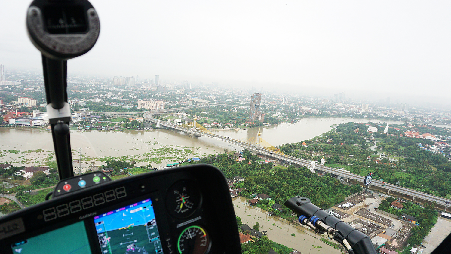 Helicopter Sightseeing Bangkok Thailand Solaire Heliluck Aviation Services 33