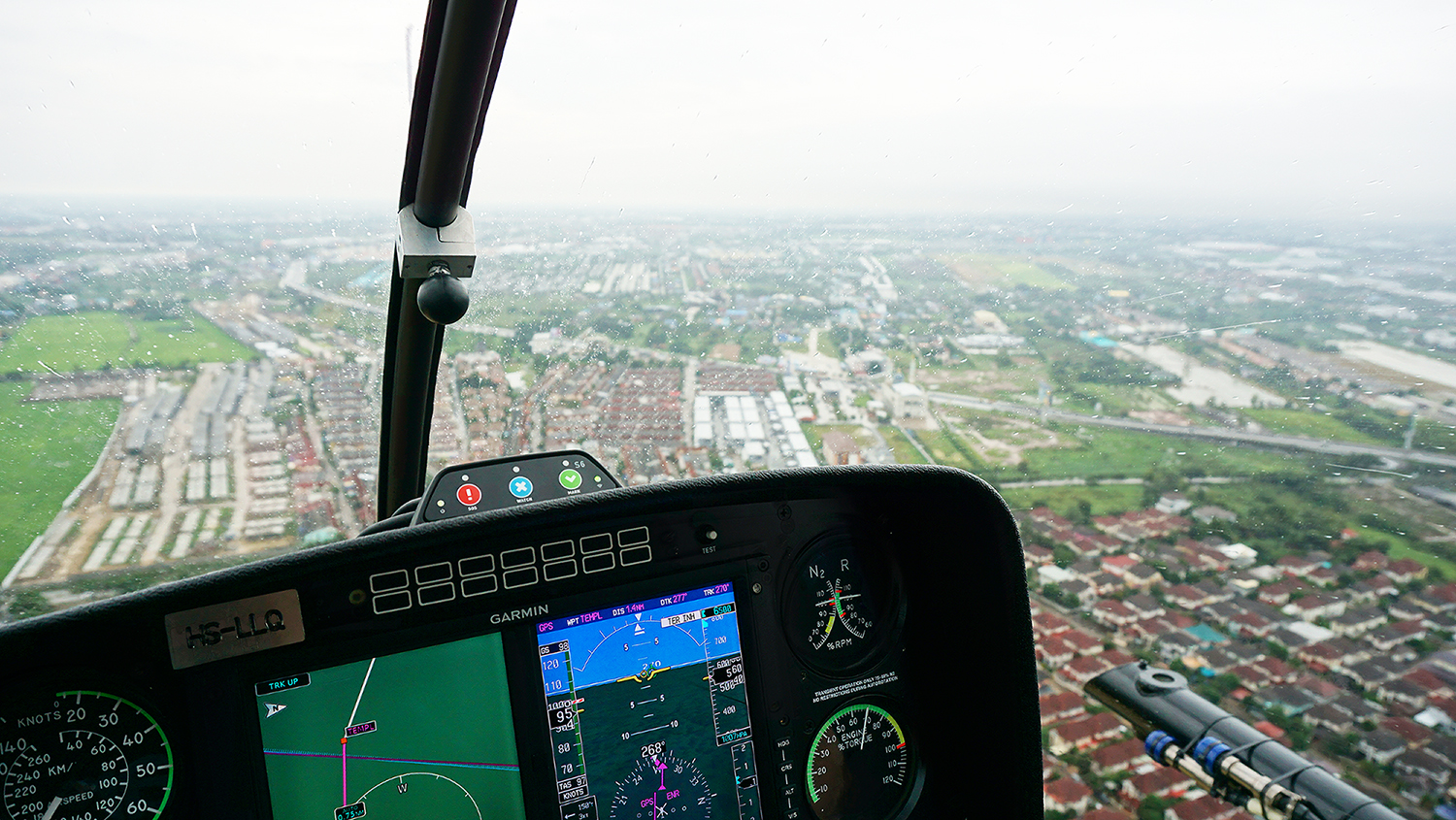 Helicopter Sightseeing Bangkok Thailand Solaire Heliluck Aviation Services 43