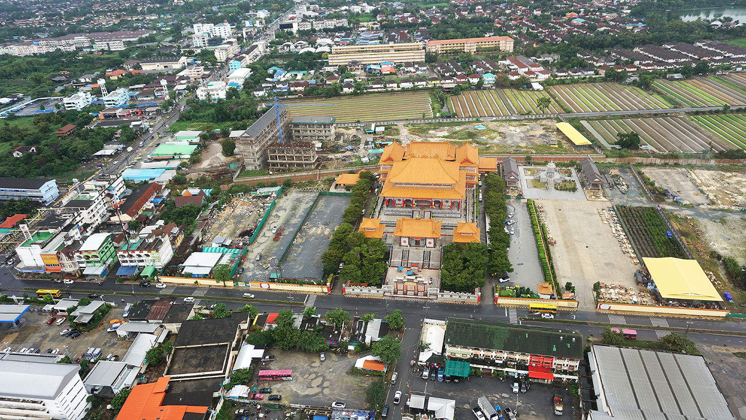 Helicopter Sightseeing Bangkok Thailand Solaire Heliluck Aviation Services 45