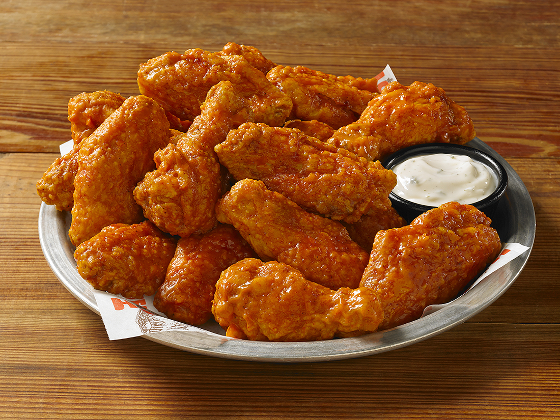 Original Hooters Style Hot_Wings