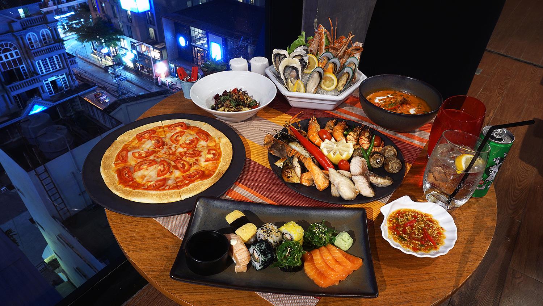 Craving Seafood Market Seafood Dinner Fri-Sat Buffet Crave Wine Bar and Restaurant A Loft Bangkok Sukhumvit 11 45