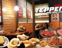 กินเนื้อวากิวปิ้งย่าง จิ้มไข่ดองน้ำปลา จิบเบียร์เย็นๆ TEPPEN BBQ AND SUSHI IZAKAYA เอสพลานาดรัชดา ฟินเวอร์