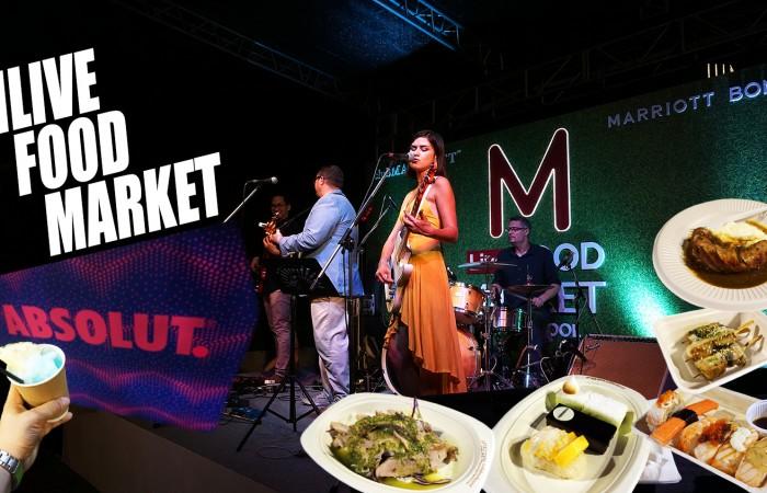 กินทุกเมนูเด็ด เมนูอร่อย จาก 19 โรงแรมในเครือ Marriott กรุงเทพ ที่เดียวจบครบทุกความอร่อย MLIVE FOOD MARKET @Bangkok Marriott Marquis Queen's Park