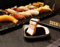 กินอาหารญี่ปุ่น ไคเซกิสไตล์ประสบการณ์ 25 ปี วัตถุดิบพรีเมี่ยม SUSHI HANA @พระราม 3 ตับห่าน ปลาไหล ไข่ปลาแซลมอนมาเต็ม Mango Sauce ต้องลอง !!!