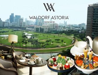 ช่วงเวลาแห่งความสุข นั่งชิลกับ Peacock Alley's Festive Afternoon Tea ขนมน่าร๊ากกกก ที่ Waldorf Astoria Bangkok ไม่ไป ไม่ได้แล้วมั้ง