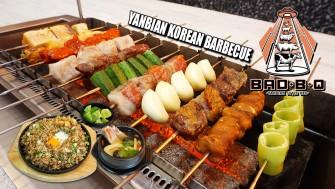 กินบาร์บีคิวสไตล์ Yanbian ลูกครึ่งจีนเกาหลีเหนือโดยสายลับคิมผู้พ่อ (ล้อเล่นน้า) ของต้องลองที่ BADBQ @สยามสแควร์ ซอย 9 ไปกั้น…