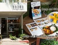 กินกระเพราหมูสับผัดคลุกเคล้ากับมะม่วง (Mango and Minced Pork Kaprao with Rice) ที่ 39280 Mango Cafe พระนคร ท่าเตียน…