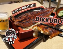 จัดเต็มข้าวหน้าปลาไหล (ปลาไหล 300 กรัม) ย่างเตาถ่านแบรนด์ดังจากญี่ปุ่น Nadai Unatoto @เอสพลานาด รัชดา