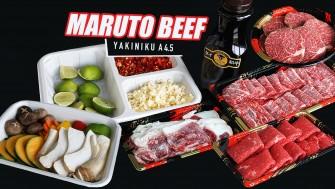 จัดเนื้อเทพ SET C YAKINIKU A4.5 ลายหินอ่อน นุ่มละลายในปาก กินเท่าไหร่ก็ไม่เบื่อ @MARUTO BEEF ของเค้าดีจริง ^^