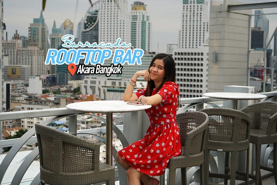 Barracuda Rooftop Bar Akara Bangkok 0