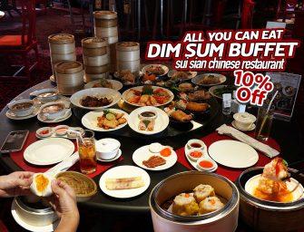กินติ่มซำไม่อั้น (All You Can Eat) โปรโมชั่นเด็ดหลัง COVID ลด 10% ที่ Sui Sian Chinese Restaurant @The Landmark Bangkok