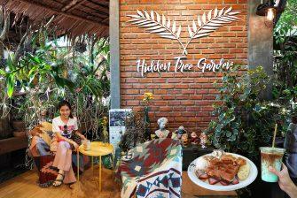 นั่งชิล Hidden Tree Garden คาเฟ่สไตล์ทรอปิคอลสุดแสนจะร่มรื่น ดื่มด่ำกับธรรมชาติกลางป่า @อัมพวา สมุทรสงคราม